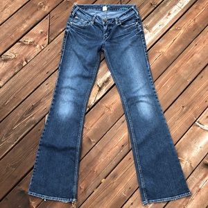 Silver Aiko Jeans size 28